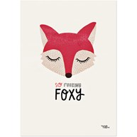 Michelle Carlslund - Poster, So fucking Foxy