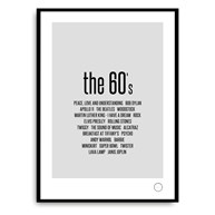 Poster - Remember the 60s