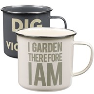 Plåtmugg - Thoughtful Gardener