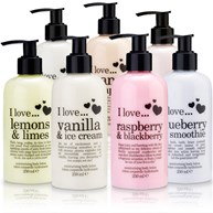 I love - Body lotion