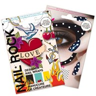 Nail Rock - Nail Wraps, retro