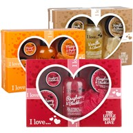 I love - A little box of love, Presentkit med hudvård