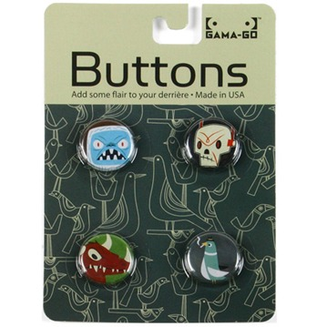 Badges - Yeti and friends