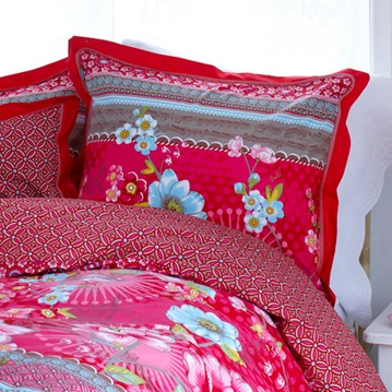 PiP Studio sängkläder - Chinoise, röd
