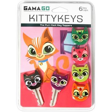 Nyckelhattar - Kittykeys (6-pack)