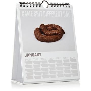 kalender same shit