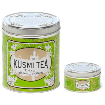 Kusmi Tea - Ginger Lemon green tea