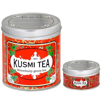 Kusmi Tea - Strawberry, grönt te