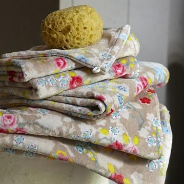 PiP Studio - Chinese Blossom handdukar, khaki