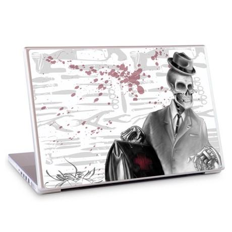 Gelaskins dekor till 13 tum laptop Osteology