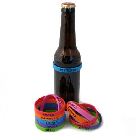 Beer bands – Drunk (12-pack)
