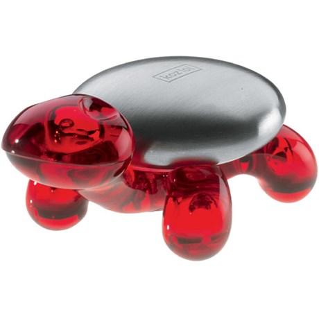 Koziol antilukt tvål i stål – Sköldpadda Amanda