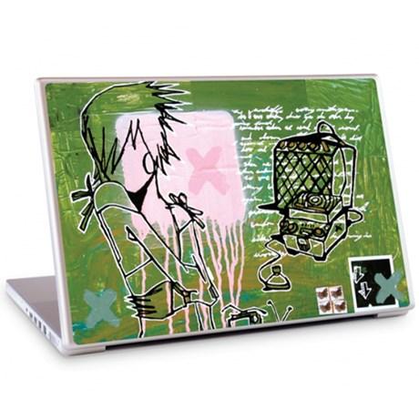 Gelaskins dekor till 15 tum laptop Echoplex