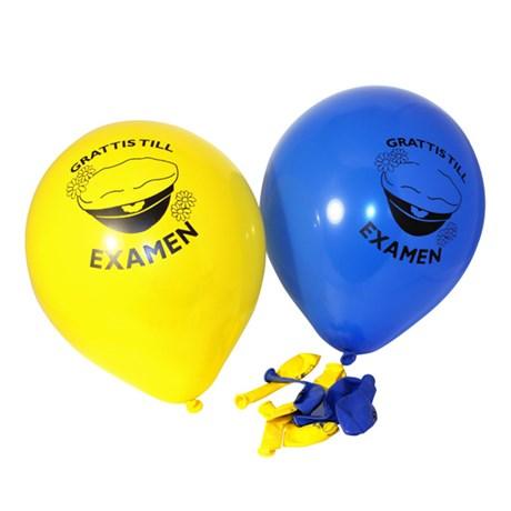 Ballonger – Grattis till Examen (10-pack)