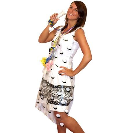 Studentförkläde av plast