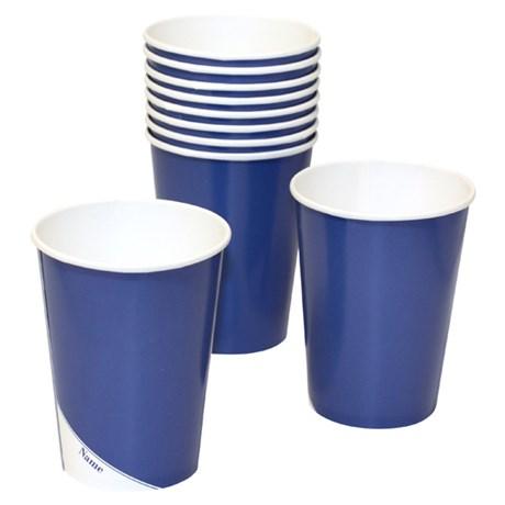 Engångsartiklar till fest, blå