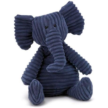 Gosedjur – Mörkblå elefant Stor