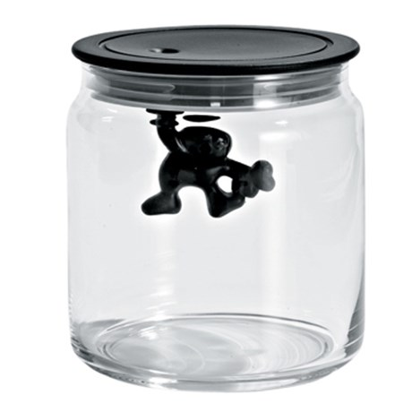 Alessi glasburk – Gianni, svart