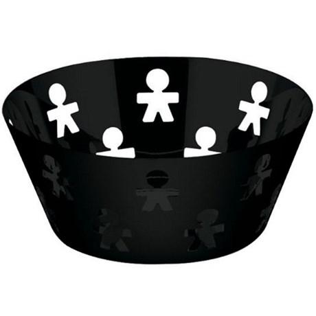 Alessi skål – Girotondo svart Mellan