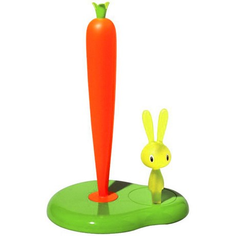 Alessi pappershållare – Bunny & Carrot Grön