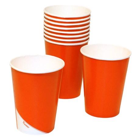 Engångsartiklar till fest, orange