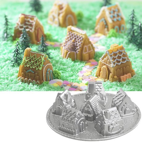 Nordic Ware Kakform – Byggnad Cozy village