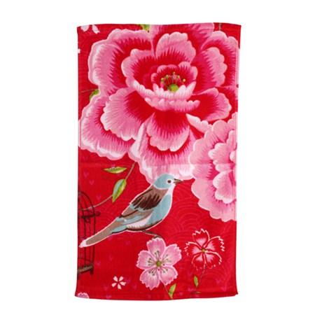 PiP Studio handdukar – Birds in Paradise, röd