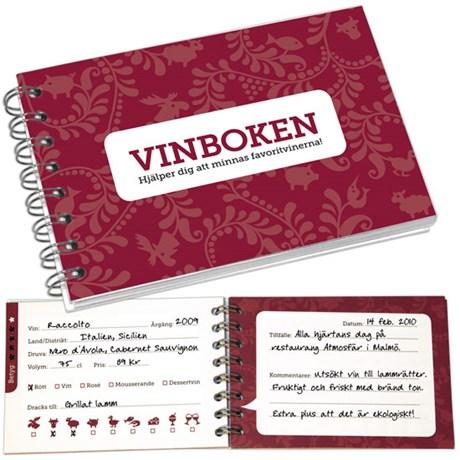 Kom ihåg bok – Öl Vin & Whisky Vinboken