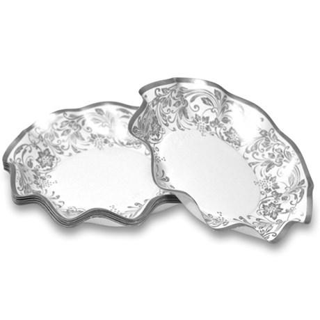 Engångsartiklar till fest – Noblesse, silver