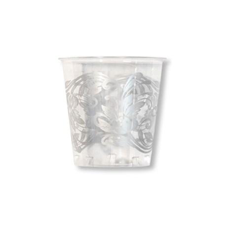 Engångsartiklar till fest – Noblesse silver Plastglas (10-pack)