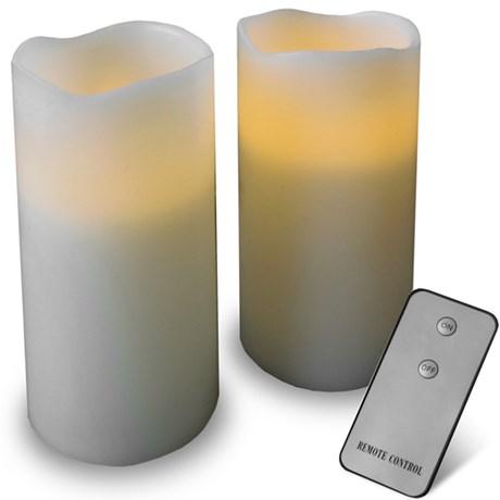 Elektriska stearinljus med fjärrkontroll