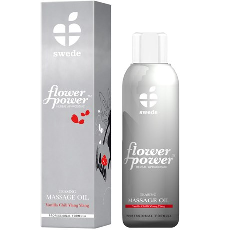 Massageolja - Flower Power