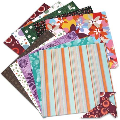 Origami – 100 mönstrade pappersark