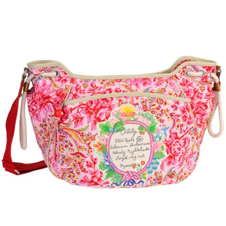 Oilily väska – Dutch Flower, Shoulderbag M