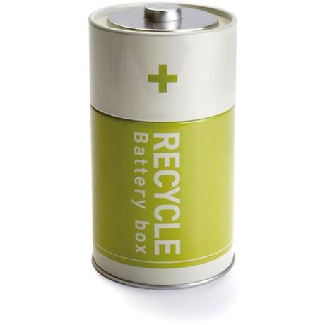 Batteriburk för återvinning av batterier