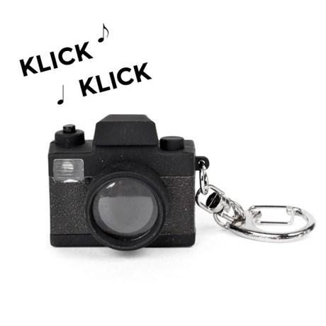 Nyckelring med lampa och ljud – Kamera Kamera