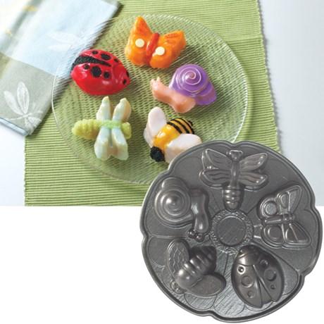 Nordic Ware Kakform – Djur 5 söta insekter