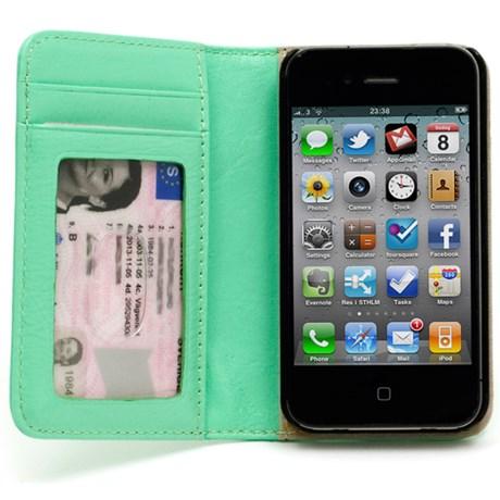 iPhonefodral i läder