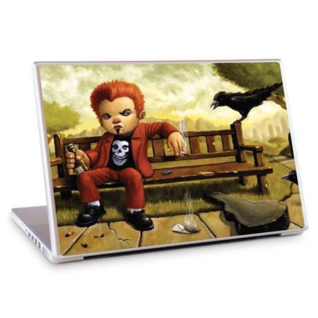 Gelaskins dekor till 12 tum laptop Punk Rock Blues