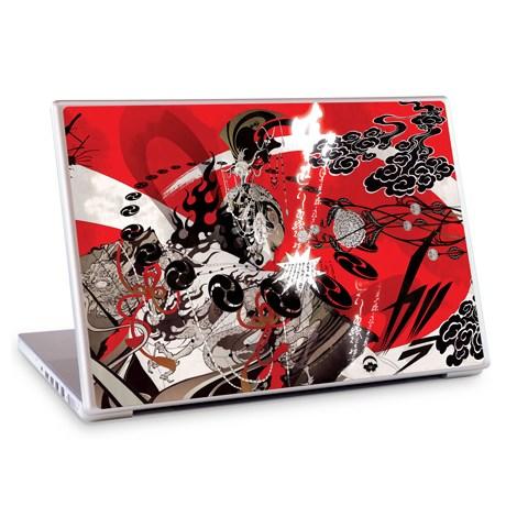 Gelaskins dekor till 15 tum laptop Fuzin Raizin