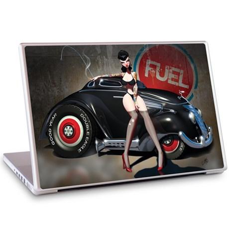 Gelaskins dekor till 17 tum laptop Fuel