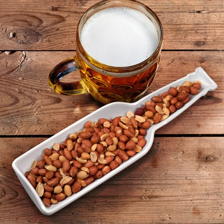 Skål för snacks – Ölflaska