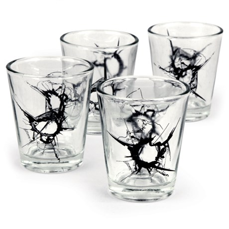 Shotglas – SHOT Glasses (4-pack)