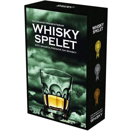 Whiskyspelet – 400 smarta frågor om whisky