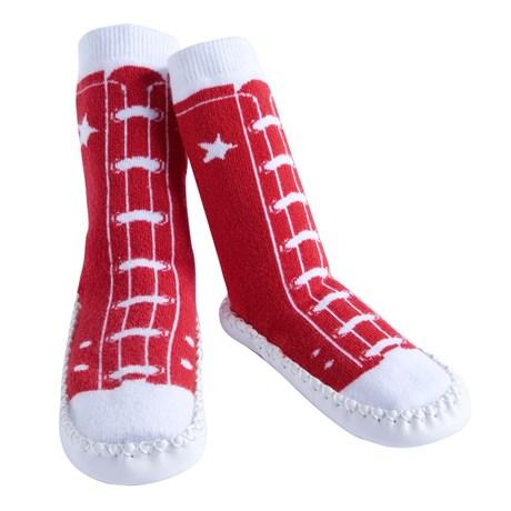 Mockasiner – Röda sneakers 18-24 mån.