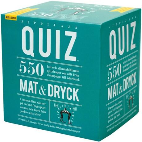 Jippijaja Quiz frågespel – Mat & Dryck