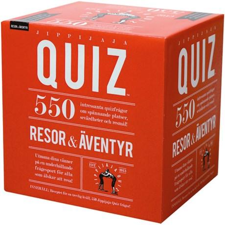 Jippijaja Quiz frågespel – Resa & Äventyr