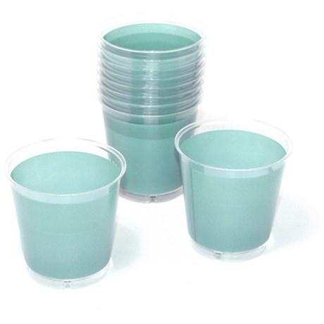 Engångsartiklar till fest mint Plastglas (10-pack)