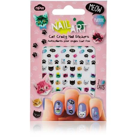 Nail Art – Nagelklistermärken, Katter