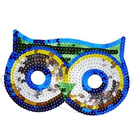 Rice - Maskeradmasker för barn, djur, Uggla
